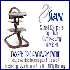 Svan High Chair Svan Signet Complete High Chair Giveaway Ends 9 9 Everything