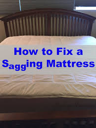 Fix Bed Frame How To Fix A Sagging Mattress On The Cheap