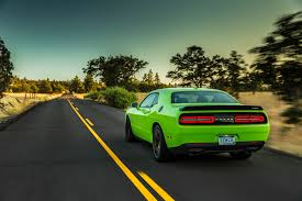 Dodge Challenger Green - 2015 dodge challenger srt hellcat first drive motor trend