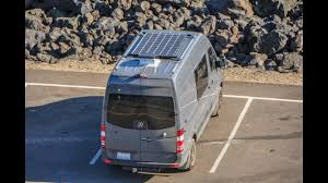 mercedes sprinter camper van 300 watt solar install on a mercedes sprinter camper van youtube