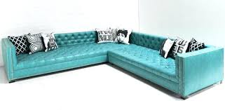 Turquoise Leather Sofa Leather Inspiration Sectional Sofa Turquoise Gradfly Co