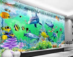 3d room wallpaper custom photo non woven mural ocean corals 3d room wallpaper custom photo non woven mural ocean corals dolphin fish decoration painting 3d wall murals wallpaper for walls 3 d wallpaper for mobile