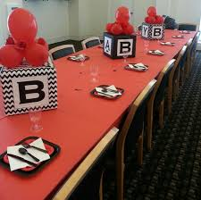 red and black baby shower ideas 11952