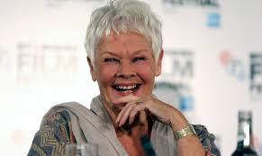 judi dench hairstyle front and back of head judi dench i have many more insecurities than i ever had before