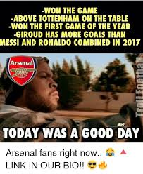 Funny Tottenham Memes - won the game above tottenham on the table won the first game of