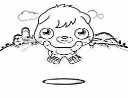 moshi monsters coloring pages to print kids coloring