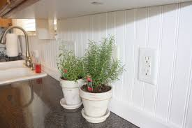 simple beadboard kitchen backsplash u2014 the clayton design