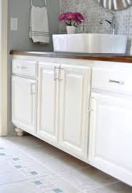 Painting Bathroom Vanity Painting Laminated Cabinets How To Repair And Paint Them