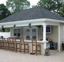pool houses with bars 16 x 20 pool house cabana with custom entertainment area and