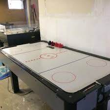 Best Air Hockey Table by Best Dufferin Air Hockey Table With 4 Paddles And Pucks Goal Area