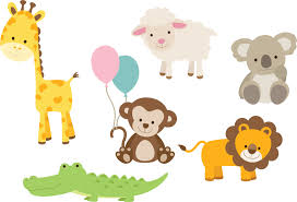 animal decals for nursery baby animal wall stickers animal wall decal printed set