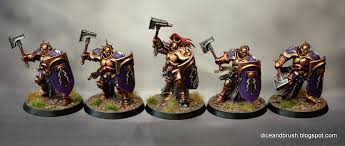 dice and brush tutorial how to paint stormcast eternals lions