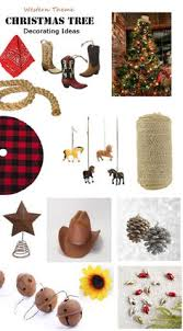 Cowboy Christmas Decorating Ideas New Western Cowgirl Christmas Natural Jute Tied Ornaments Set