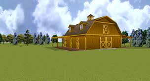 Gambrel Pole Barn by Barns And Buildings Quality Barns And Buildings Horse Barns