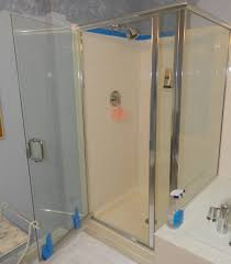 Shower Doors Basco Lovely Plain Ideas Shower Door Handle Replacement Stupefying Glass
