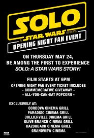 opening night fan event star wars the last jedi malco theatres starwars