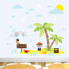 pirates bedroom theme boys bedroom ideas and designs enchanted pirate dog treasure island nursery wall stickers