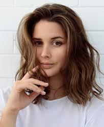 collarbone length wavy hair 306 best medium length hair styles images on pinterest hair