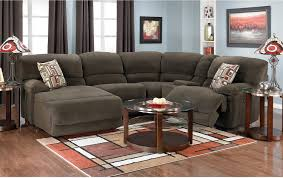 Black Microfiber Sectional Sofa With Chaise Living Room Microsuede Sectional Fabric Sectional Sofa With