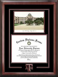 virginia tech diploma frame a m college station aggies diploma frames