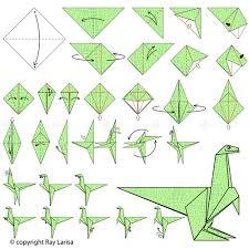 how to make dinosaur origami dinosaur animated origami