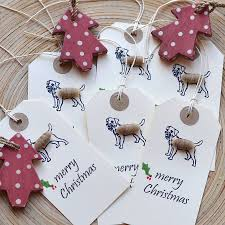 border terrier gift tags by lindop designs