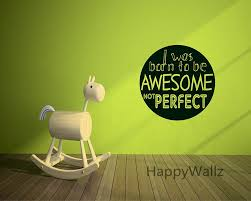 aliexpress com buy motivational quote wall sticker i was born