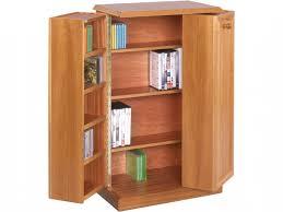 Oak Cd Storage Cabinet Marvelous Oak Dvd Storage Cabinet Leslie Dame Library Style