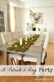 st patrick s day home decorations st patrick u0027s day party modern and simple st patrick u0027s day decor