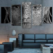 discount word art prints 2017 word art canvas prints on sale at 5pcs set framed hd printed words face typography wall art canvas print poster canvas pictures abstract oil painting artworks affordable word art prints