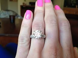 real engagement rings engaged in beaver creek colorado engagement ring