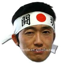 kamikaze headband hot sell 100 cotton japanese traditional kamikaze hachimaki