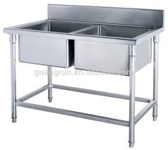 Restaurant Kitchen Sinks Restaurant Used Bowls Free Standing Commercial Stainless