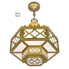 Arts And Crafts Ceiling Lights by Pair Of Antique Chandeliers Gothic Or Arts And Crafts Ceiling