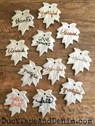 diy ceramic leaf ornaments thanksgiving or fall home decor