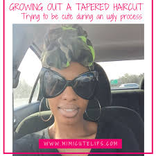 tapered haircut natural hair hair drama back story growing out a tapered haircut mimicutelips