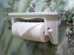 Toilet Paper Holder With Shelf Wall Mount Paper Towel Holder With Shelf Towel