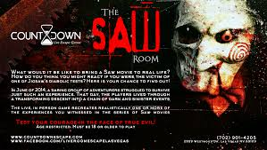 the saw experience gaming room venue for rent in las vegas