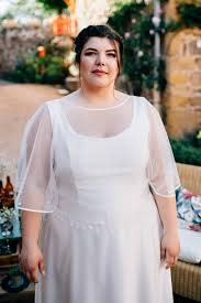 robe de mariee retro yael robe de mariée retro grande taille sur mesure à lyon
