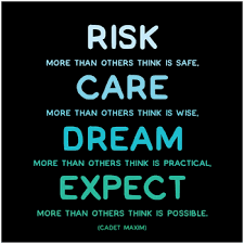 quotable cards risk care expect greeting card cadet maxim quotable