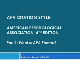 best 25 apa format 6th edition ideas on pinterest apa 6 format