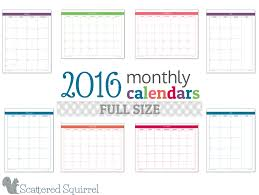 printable monthly planner 2016 free print free monthly calendar 2016 print monthly calendar 2016 free