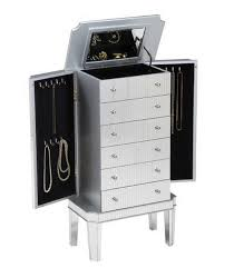 Dresser Top Jewelry Armoire Top 7 Cute White Jewelry Armoires For Your Bedroom Cute Furniture
