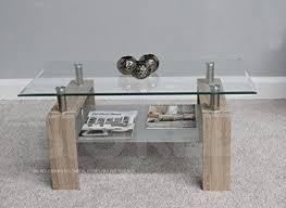 rectangle coffee table with glass top new modern rectangle coffee table clear glass top with chrome