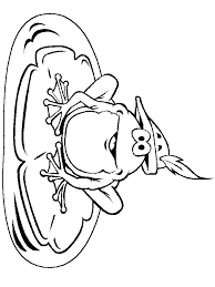 coloring pages frog thingkid clip art library