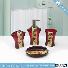 red bathroom accessories sets uk 2016 bathroom ideas u0026 designs