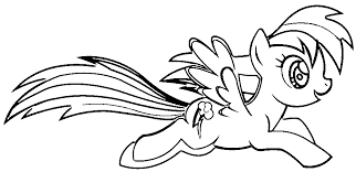 my little pony coloring pages of rainbow dash 20 my little pony friendship is magic coloring pages rainbow dash 3