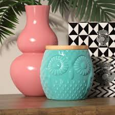 owl canisters for the kitchen owl kitchen canisters ceramic wayfair