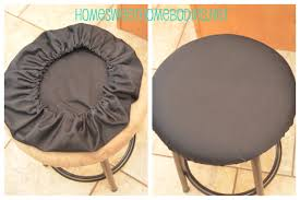 bar chair covers bar stool re cover home sweet homebodies