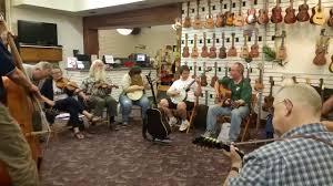 pretty shaky string band at elderly instruments youtube